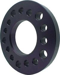 "Allstar Performance - Allstar Performance 1"" Aluminum Wheel Spacer - Fits 5 x 4.5"", 5 x 4.75"", 5 x 5"" Bolt Circle"