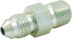 "Allstar Performance - Allstar Performance Steel Adapter Brake Fitting -03"" AN to 1/8"" NPT Straight - Wilwood Caliper"