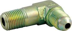 "Allstar Performance - Allstar Performance Tall 90° Steel Brake Fitting - 1/8"" NPT to -03 AN"