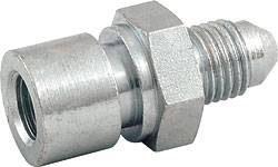 "Allstar Performance - Allstar Performance Steel Brake Line Adaptor Fitting, -04 AN to 3/16"" Brake Line"