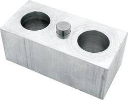 "Allstar Performance - Allstar Performance Billet Aluminum Lowering Block - 2""H x 2-1/2""W x 5"" L - 9/16"" Pin Diameter"