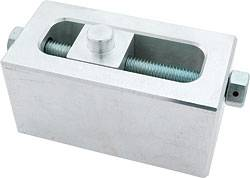 "Allstar Performance - Allstar Performance Cast Adjustable Aluminum Lowering Block - 2-1/2"" Adjustment H x 2-1/4""W x 5""L - 9/16"" Pin Diameter"