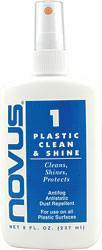 Novus Plastic Polish - Novus Plastic Polish #1 - Clean & Shine - 8 oz. Bottle