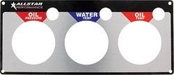 Allstar Performance - Allstar Performance Replacement 3 Gauge Panel - WT/OP/OT