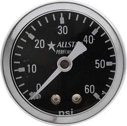 "Allstar Performance - Allstar Performance 0-60 PSI 1-1/2"" Gauge"