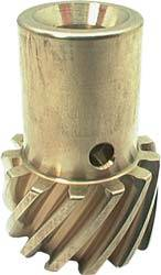 "Allstar Performance - Allstar Performance Premium Bronze Distributor Gear - .491"" Diameter Chevy w/ Roll Pin"