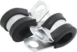 "Allstar Performance - Allstar Performance Aluminum Line Clamp - 1/4"" - (10 Pack)"