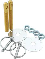 "Allstar Performance - Allstar Performance Aluminum Hood Pin Kit - Gold - 1/2"" Diameter"
