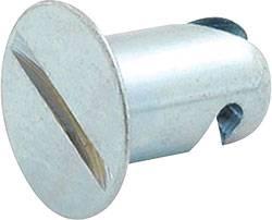 "Allstar Performance - Allstar Performance Aluminum Flush HeadQuick Turn Fastener - .400"" Long - (10 Pack)"