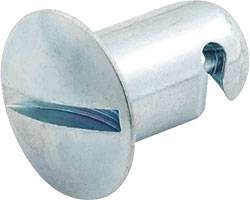 "Allstar Performance - Allstar Performance Aluminum Oval Head Quick Turn Fastener - .500"" Long - (10 Pack)"