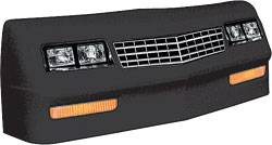 Allstar Performance - Allstar Performance 1983-88 Monte Carlo SS Nose - Black