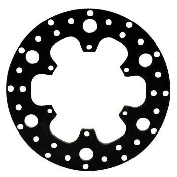 "Wilwood Engineering - Wilwood Drilled Steel Rotor - 10.25"" Diameter - .350"" Width - 6 x 5.50"" Bolt Circle - .325"" Hole Type - 4.94"" Lug I.D. - 4.7 lbs."
