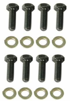 Wilwood Engineering - Wilwood Rotor Bolt Kit - Hex Head - Short Profile - Lock Wired Drilled - Star Washers - (8 Pack)
