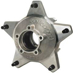 "Wilwood Engineering - Wilwood Starlite ""55"" Wide 5 Racing Rear Hub - 5/8"" Coarse Studs - Drilled - (Fits Wilwood Calipers)"