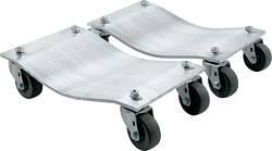 "Allstar Performance - Allstar Performance Aluminum Wheel Dollies (1"" Pair) w/ Standard Casters"