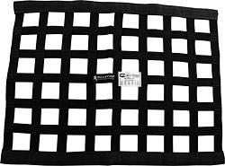 "Allstar Performance - Allstar Performance Border Style Ribbon Window Net - 18"" x 24"" - Black"