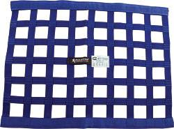 "Allstar Performance - Allstar Performance Border Style Ribbon Window Net - 18"" x 24"" - Blue"