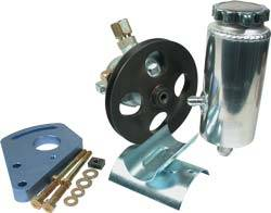 Allstar Performance - Allstar Performance Power Steering Pump Kit - SB Chevy w/ Block Mount Bracket