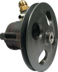 Allstar Performance - Allstar Performance Power Steering Pump w/ V-Belt Pully