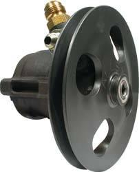 Allstar Performance - Allstar Performance Power Steering Pump w/ V-Belt Pully