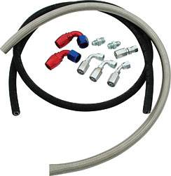 Allstar Performance - Allstar Performance Power Steering Hose Kit