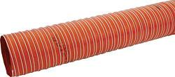 "Allstar Performance - Allstar Performance 4"" Double Ply Silicon Coated Woven Fiberglass Brake Duct Hose - 500 Degree Rated - 10 Ft."