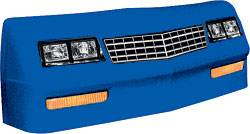 Allstar Performance - Allstar Performance 1983-88 Monte Carlo Nose - Chevron Blue