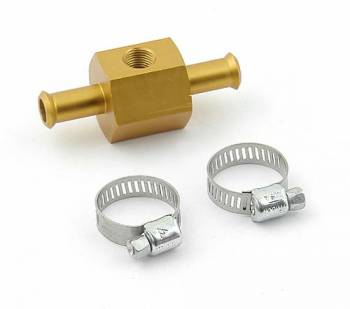 "Mr. Gasket - Mr. Gasket Fuel Pressure Gauge Adapter - 3/8"" O.D. Ends - Center Tapped 1/8"" NPT"