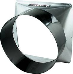 "Allstar Performance - Allstar Performance Aluminum Fan Shroud - Fits 22"" Allstar Performance Radiator"