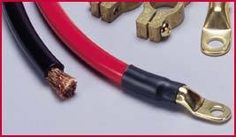 QuickCar Racing Products - QuickCar Drag Kit - 2 AWG Cable Kit
