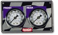 """QuickCar Racing Products - QuickCar Mini Brake Bias Horizontal Gauge Panel  Light Weight 1-1/2"""""""