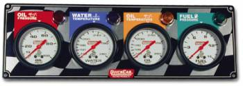 QuickCar Racing Products - QuickCar 4 Gauge Panel - OP/WT/OT/FP