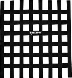 "Allstar Performance - Allstar Performance Loop Style Window Net - 18"" x 18"" - Black"