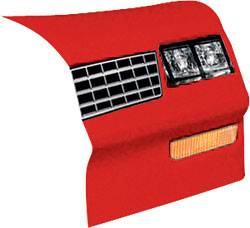 Allstar Performance - Allstar Performance 1983-88 Monte Carlo SS Nose - Red - Right (Only)