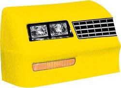 Allstar Performance - Allstar Performance 1983-88 Monte Carlo SS Nose - Yellow -Left (Only)