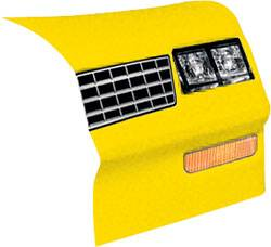 Allstar Performance - Allstar Performance 1983-88 Monte Carlo SS Nose - Yellow -Right (Only)