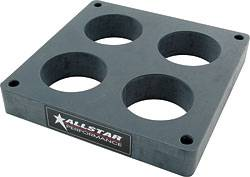 "Allstar Performance - Allstar Performance Holley 4500 Tapered 4-Hole Carb Spacer - 1"" Thick"