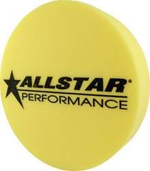 "Allstar Performance - Allstar Performance 3"" Foam Mud Plug - Fits 15"" Wheels - Yellow"