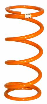 "Tanner Racing Products - Tanner Orange Hot Quarter Midget Spring - 110 lb. - 5"" Tall"
