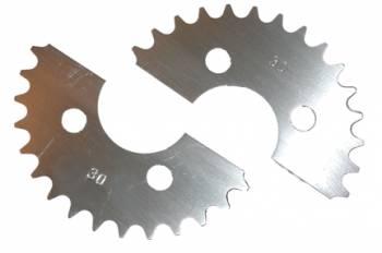 Tanner Racing Products - Tanner Split Quarter Midget, Kart Axle Sprocket - 33