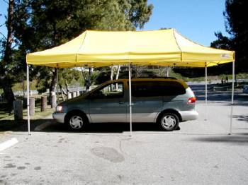 Norstar Canopies - Norstar Platinum, Titanium Top (Only - No Frame) - Black - 10 Ft. x 20 Ft.