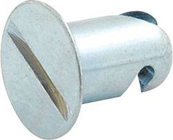 "Allstar Performance - Allstar Performance Aluminum Flush Quick Turn Fastener - .400"" Long - (50 Pack)"