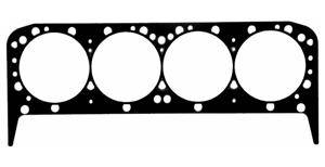 "Fel-Pro Performance Gaskets - Fel-Pro Perma Torque Head Gasket (1) - Composition Type - 4.250"" Bore - .051"" Compressed Thickness - SB Chevy"