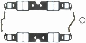 "Fel-Pro Performance Gaskets - Fel-Pro Printoseal Performance Intake Manifold Gaskets - 2.38"" x 1.38"" Port - .060"" Thick - SB Chevy"