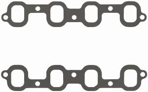 "Fel-Pro Performance Gaskets - Fel-Pro Intake Manifold Gaskets - Composite - SB Chevy2 Mirror Port - Trim to Fit - 1.40"" x 1.90"" Port - .030"" Thick"