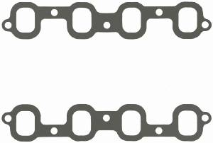 "Fel-Pro Performance Gaskets - Fel-Pro Intake Manifold Gaskets - Composite - SB Chevy2 Mirror Port - Trim to Fit - 1.40"" x 1.90"" Port - .060"" Thick"