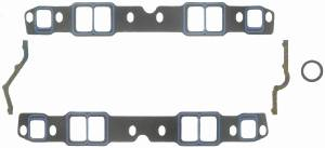 "Fel-Pro Performance Gaskets - Fel-Pro Printoseal Performance Intake Manifold Gaskets - Cut to Fit - 1.9-2.3"" x 1.25-1.4"" Port - .060"" Thick - SB Chevy"