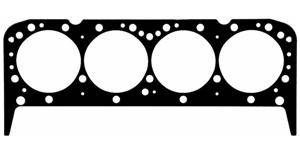 "Fel-Pro Performance Gaskets - Fel-Pro Perma Torque Head Gasket (1) - Composition Type - 4.080"" Bore - .039"" Compressed Thickness - SB Chevy"