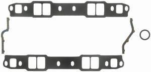 "Fel-Pro Performance Gaskets - Fel-Pro Intake Manifold Gaskets - Composite - Cut to Fit - 1.9-2.3"" x 1.25-1.4"" Port - .120"" Thick - SB Chevy"