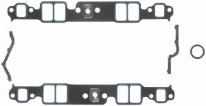 "Fel-Pro Performance Gaskets - Fel-Pro Printoseal Performance Intake Manifold Gaskets - Composite - 1.99"" x 1.23"" Port - .060"" Thick - SB Chevy"